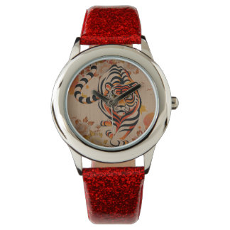 japanese tiger art watches