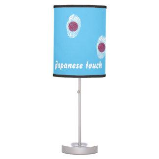 Japanese touch fingerprint flag table lamp