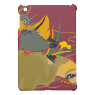 Japanese traditional pattern - Colorful bird iPad Mini Covers