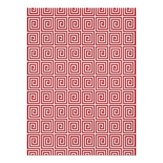 Japanese Traditional Pattern; Thunder Poster