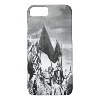 Japanese troops on Bataan,_War image iPhone 7 Case
