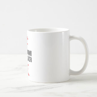 JAPANESE TSUNAMI SURVIVOR COFFEE MUGS