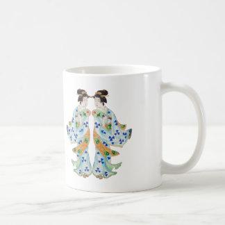 Japanese Twins Coffee Mug