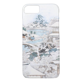 Japanese Ukiyo-e of the 47 Ronin Fighting Samurai Case-Mate iPhone Case