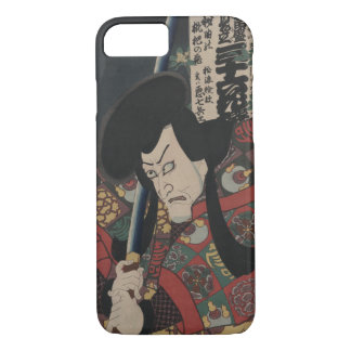 Japanese Ukiyo-e Samurai Kabuki Actor by Kunisada iPhone 8/7 Case