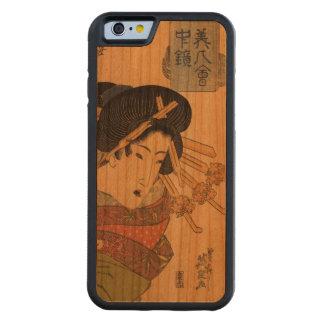 Japanese Ukiyo-e Woodblock Print Series Four Cherry iPhone 6 Bumper Case