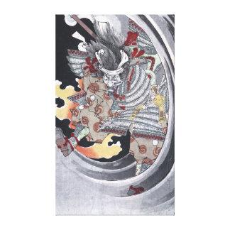 Japanese Ukiyo-e Yokai Ghost by Yoshitoshi Canvas Print