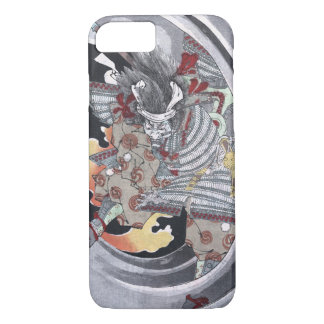 Japanese Ukiyo-e Yokai Ghost by Yoshitoshi iPhone 8/7 Case