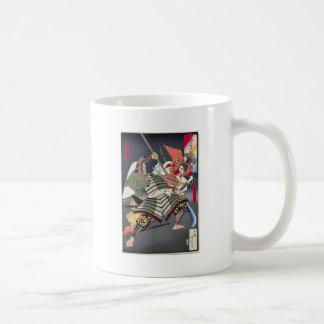 Japanese ukiyoe art coffee mug