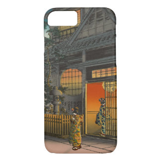 Japanese Ukiyoe Art (Kouitsu Tsuchiya) iPhone 8/7 Case