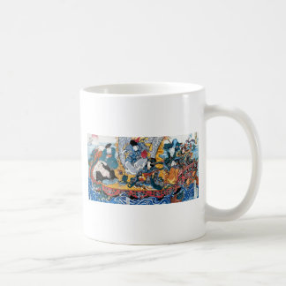 Japanese Ukiyoe Art (kunisada utagawa) Coffee Mug