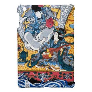 Japanese Ukiyoe Art (kunisada utagawa) Cover For The iPad Mini