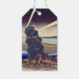 Japanese ukiyoe art (kunisada utagawa) gift tags