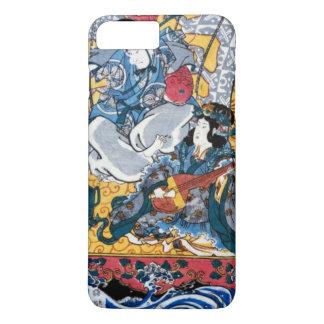 Japanese Ukiyoe Art (kunisada utagawa) iPhone 8 Plus/7 Plus Case