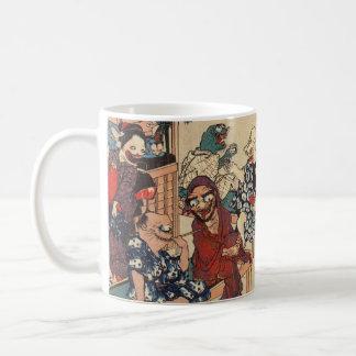Japanese Ukiyoe Art (Kuniyoshi Utagawa) Coffee Mug