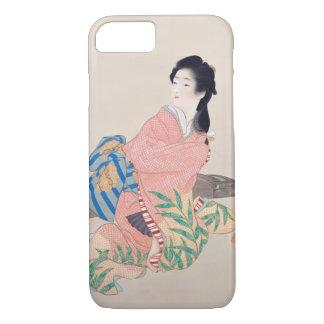 Japanese Ukiyoe Art(Shouen Uemura) iPhone 7 Case