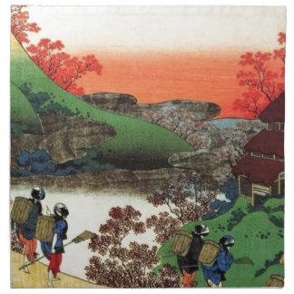 Japanese Village Napkin