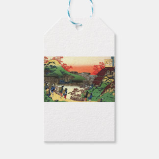 Japanese Village Pack Of Gift Tags