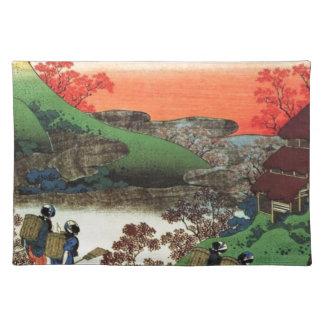 Japanese Village Placemat