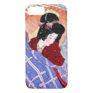 Japanese vintage beauty geisha lady woman Maiko iPhone 8/7 Case
