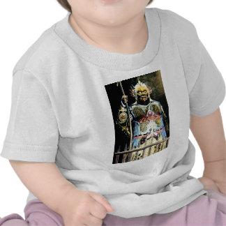 Japanese Vintage Bishamon God of War T Shirt