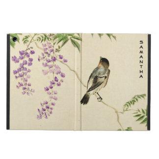 Japanese Vintage Lilac Sparrow iPad Air Case