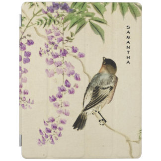 Japanese Vintage Lilac Sparrow iPad Smart Cover iPad Cover