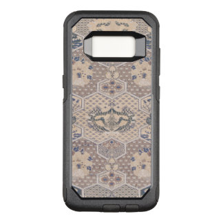 Japanese Vintage Pink Blue Geometric Textile OtterBox Commuter Samsung Galaxy S8 Case