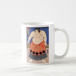 Japanese Vintage Sumo Art Mug