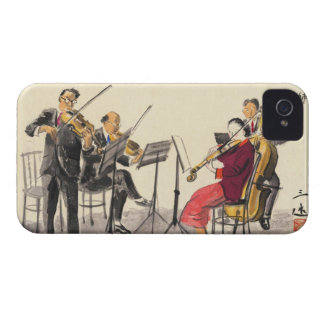 Japanese Vocations In Pictures Players Of Music Case-Mate iPhone 4 Cases