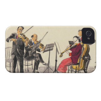 Japanese Vocations In Pictures, Players Of Music iPhone 4 Cover