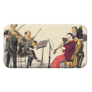 Japanese Vocations In Pictures, Players Of Music iPhone 4/4S Cover