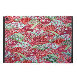 Japanese Washi Art Red Floral Origami Yuzen Powis iPad Air 2 Case