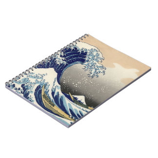 Japanese wave notebook