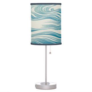 Japanese Wave Pattern Desk Lamp