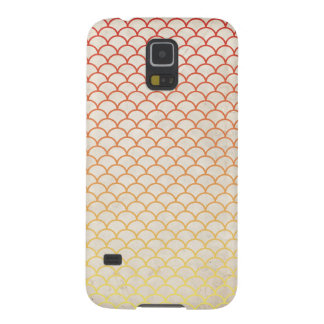 Japanese Wave Pattern on Vintage Paper Galaxy S5 Covers