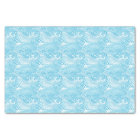 Japanese Waves Pattern in Ocean Colours Tissue Paper
