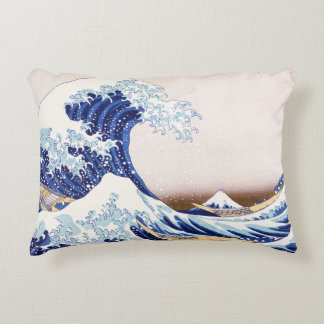 Japanese Waves Pillow