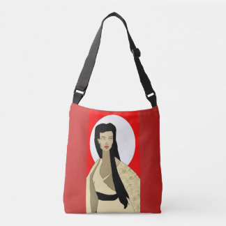 Japanese Whispers Crossbody Bag