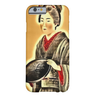 Japanese Woman Art Nouveau iPhone 6 Case Barely There iPhone 6 Case