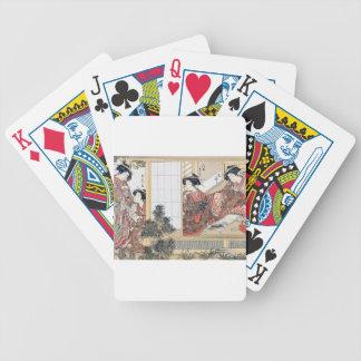 Japanese Women Bicycle Playing Cards