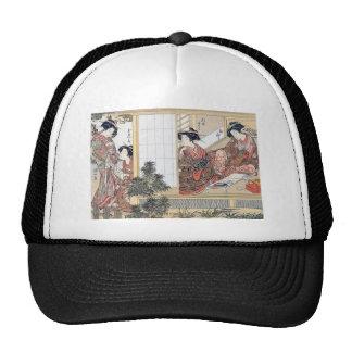 Japanese Women Trucker Hat