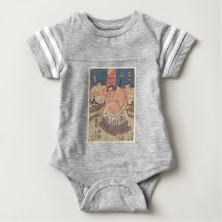 Japanese Woodprint 5 Baby Bodysuit