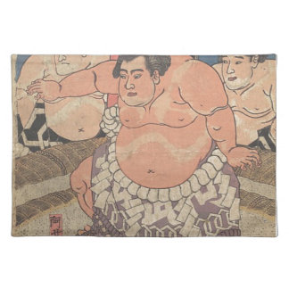 Japanese Woodprint 5 Placemat