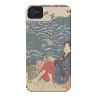 Japanese Woodprint iPhone 4 Covers