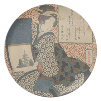 Japanese Woodprint Plate