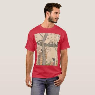 Japanese woodprint T-Shirt