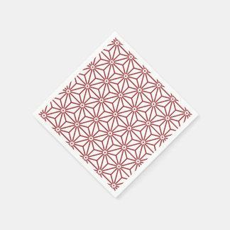 Japanese Yukata Jinbei Asanoha shinshu Paper Napkin