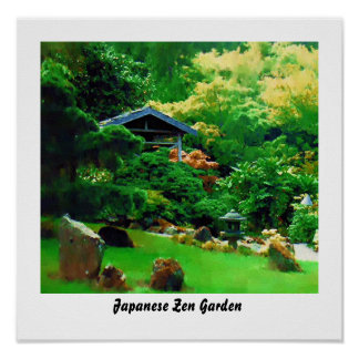 zen posters zazzle canada. Black Bedroom Furniture Sets. Home Design Ideas