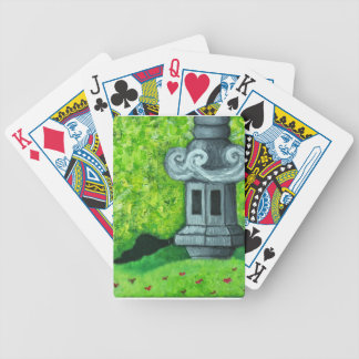 japanesstatue bicycle playing cards